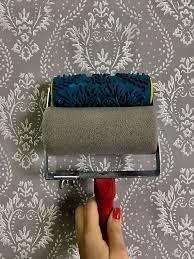pattern paint roller wall decor rubber