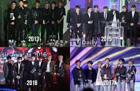 List Of Awards Received By Bts In Music Awards 2013 2018