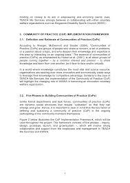 communities of practice proposal 5 7