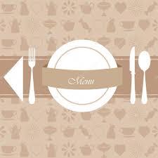 Restaurant Menu And Background Design Stock Vector Rekaa