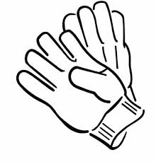 Small Picture Coloring Pages Winter Gloves Coloring Pages