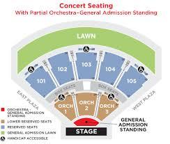 Verizon Concert Seating Chart Amphitheater Seating Chart American Family Insurance