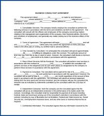A business contract is a formal written document that provides all the necessary terms and conditions that is to be followed by people who are involved in a specific business. Free Printable Business Consulting Contract Template Templateral