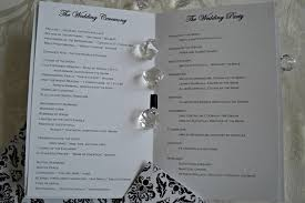 Wedding Program Thank You Wording The Way To Say Your Gratitude
