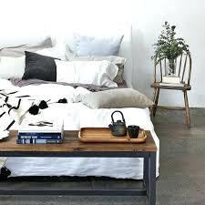 bed end table. Bed End Tables Beautiful Black Table At The Of E