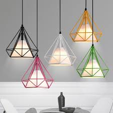 colored pendant lighting. pagoda colored metal framework pendant light with white fabric shade providing enough and even illumination lighting s