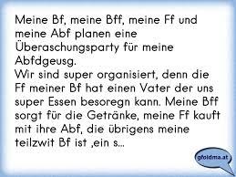 Meine Bf Meine Bff Meine Ff Und Meine Abf Planen Eine