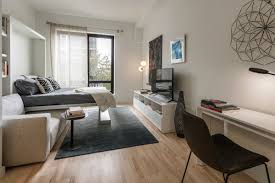 apartment furniture nyc. A Furnished Micro Unit At Caesura Photos By Ray Cavicchio Apartment Furniture Nyc