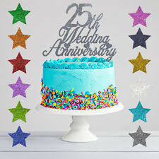 25th <b>anniversary cake topper</b> products for sale | eBay