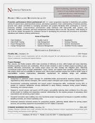Awesome Project Manager Resume Leadership Skills Resume Sample