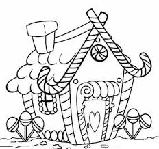 Looking for christmas coloring pages? 30 Free Gingerbread House Coloring Pages Printable