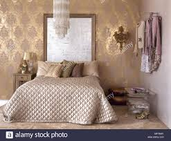 Nett Muster Tapete Schlafzimmer Fotos Beste Muster Tapete
