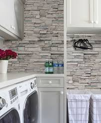faux kitchen tile wallpaper. faux stone wallpaper - peel and stick kitchen tile