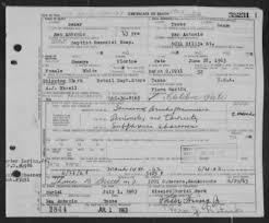 Pate, Sammye Florine in Texas Death Certificates - Fold3