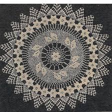 1950s Crochet Doily Patterns Chart Crochet Patterns Doily