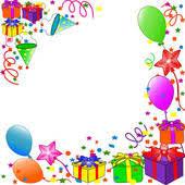 birthday balloons border clip art. Brilliant Birthday Birthday Border Clipart 1 With Balloons Clip Art F