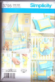 nursery bedding sewing patterns new simplicity pattern baby nursery bedding by mini crib bedding sewing patterns