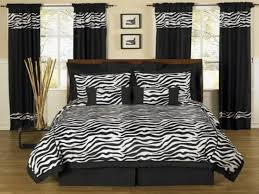 Bedroom Zebra Bedroom Decor Which Offers An Edgy Yet Girly Look To Your Room  As Well