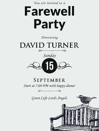 26 Farewell Invitation Templates Psd Eps Ai Free