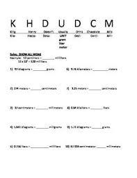 Clean King Henry Chart Math King Henry Chart Math