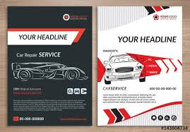 Services Flyer Automotive Services Flyer Layout 3 Buy This Stock Template And