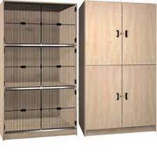 wood storage cabinet. Contemporary Wood Ironwood Wood Storage Cabinets  Solid Grill Door U0026 Open Front To Cabinet