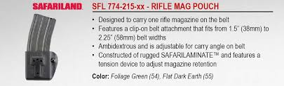 Clip On Magazine Holder Amazon Safariland 100 Competition Rifle Magazine Holder 96