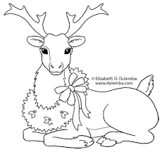 Small Picture dulemba Coloring Page Tuesday Reindeer