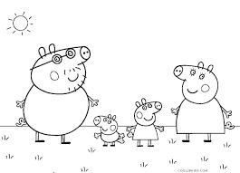 Printable Peppa Pig Coloring Pages Trustbanksurinamecom