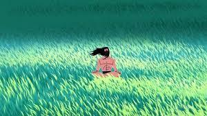 green grass field animated. Samurai Jack Season 5 Episode 7 HD Green Grass Field Animated
