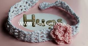 Crochet Baby Headband Pattern Extraordinary Free Crochet Patterns And Designs By LisaAuch How To Crochet Baby