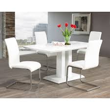 dining chairs faux leather. maxim chrome/ faux leather dining chair (set of 2) chairs