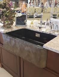 stone yes solid rock is also an option for your kitchen sink stone sinks are typically carved out of a single piece of rock giving your kitchen a