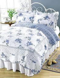 blue and white quilt cover australia blossom blue roses on white romantic chic quilt red white