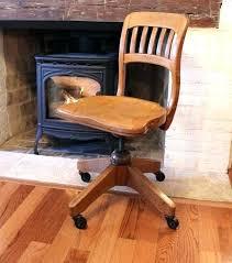vintage wooden desk chair desk oak chair or captains solid office antique swivel vintage antique wooden vintage wooden desk chair