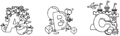 Home » grammar and vocabulary » word games. Color The Alphabet Alphabet Coloring Pages