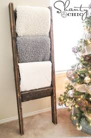 $10 Wooden Blanket Ladder - Shanty 2 Chic & DIY-Wooden-Ladder Adamdwight.com
