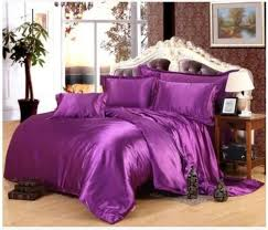 double bedspreads quality satin bedding set directly from china king size suppliers deep purple silk satin bedding set california king size