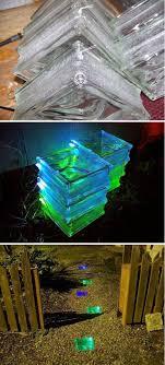 backyard solar lighting. diy glowing solar walkway backyard lighting o