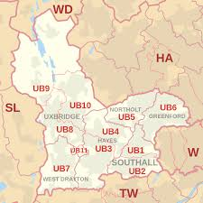 Image result for map of Longford, UB7