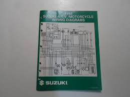 suzuki wiring diagrams buy 1992 suzuki motorcycle a t v n models wiring diagrams manual buy 1992 suzuki motorcycle a t v n models wiring