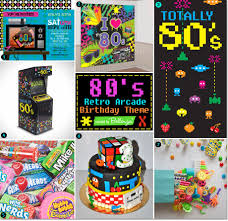 80s retro arcade birthday party theme