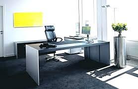 office desk idea. Desk Glass Office Table Dark Furniture Ergonomic With Idea Black