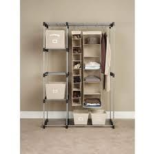 metal wardrobe storage rack 27 clothing wardrobe storage ideal storage metal portable wardrobe