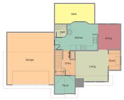 conceptdraw diagram diagramming and vector drawing extended with floor plans solution from the building plans area of conceptdraw solution park