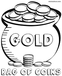 Small Picture Coins Coloring Page Coin Pages And itgodme
