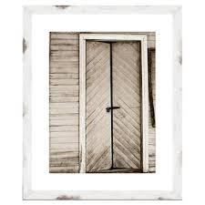 barn door framed giclee print