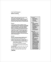 13+ Skills Inventory Templates | Sample Templates