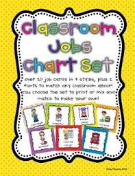 Classroom Helpers Pocket Chart Classroom Jobs Pocket Chart Or Magnetic Set