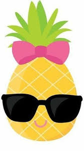 Clip Are Cute Pineapples Clipart Set Pineapple Clip Art Fun Pineapples